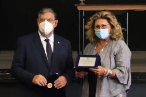 Consegna del Premio a  Lorella Salce